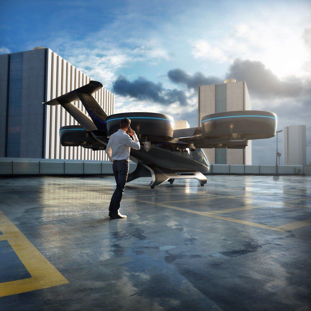 Bell Nexus sarà il taxi volante del futuro?