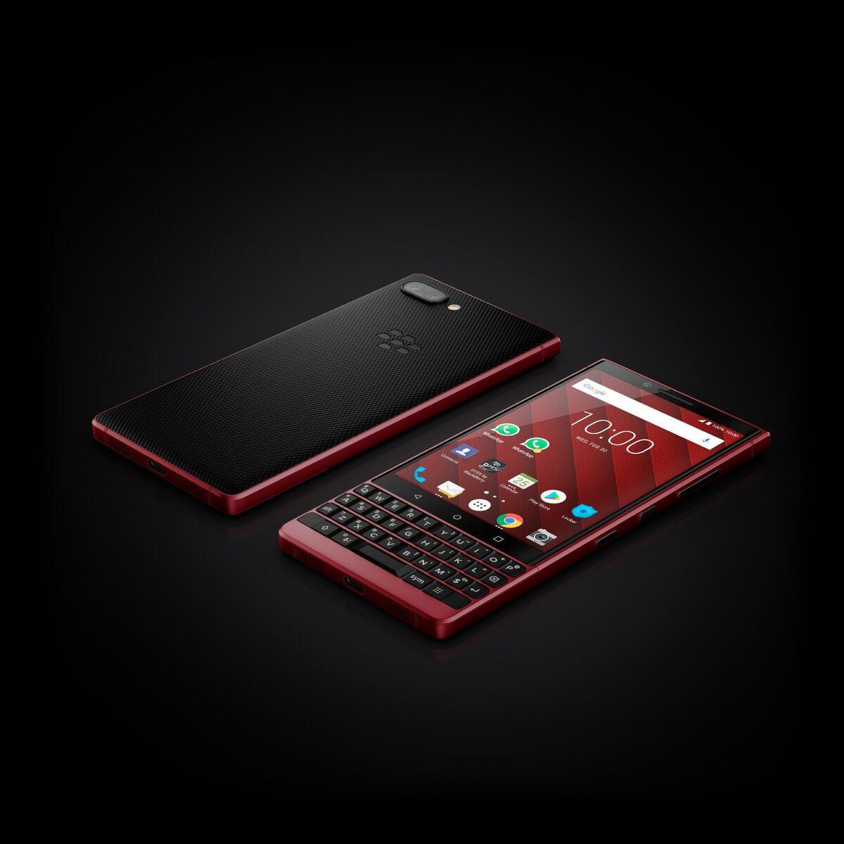 MWC 19   BlackBerry KEY2 funziona, ecco l'edizione limitata rosso fiammante