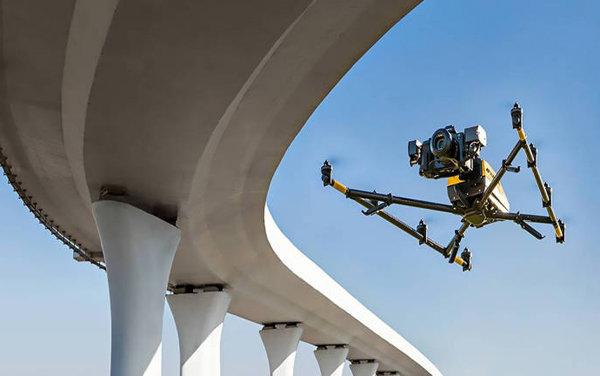 Da Intel droni per controllare la sicurezza dei ponti   The Next Tech