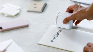 PrinCube, la stampante tascabile lanciata su Indiegogo