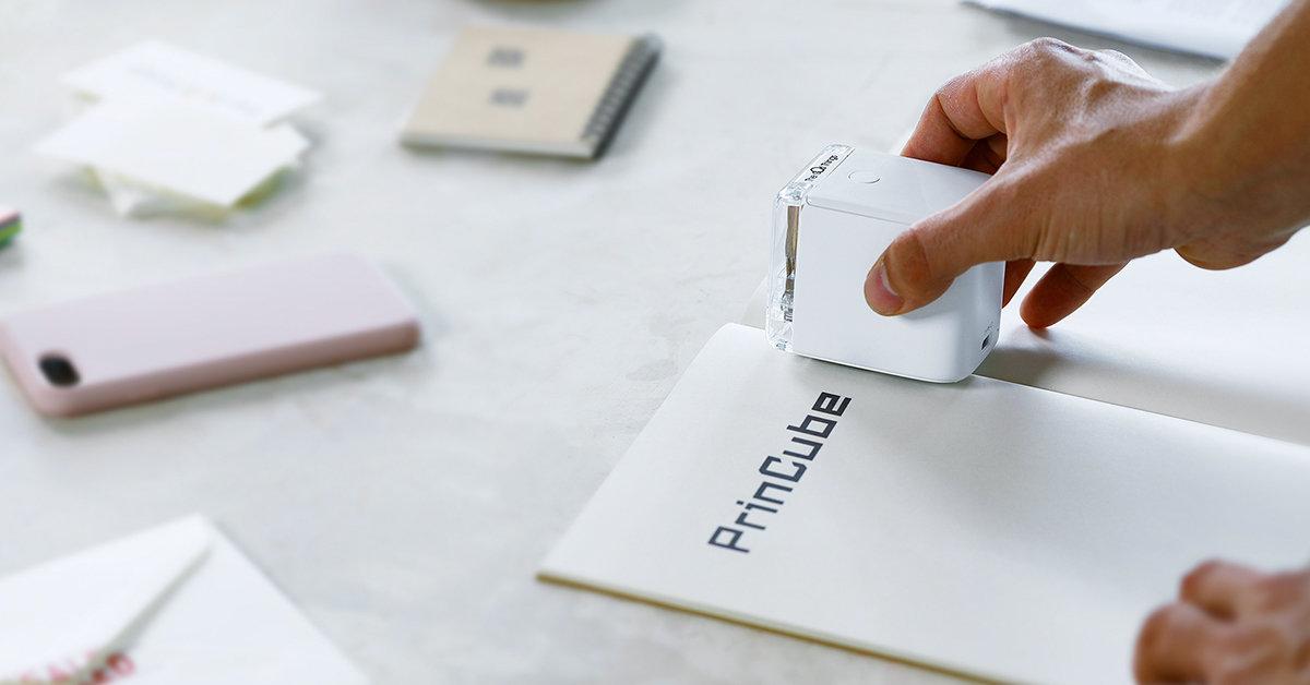 PrinCube, la stampante tascabile da oltre 3 milioni di dollari