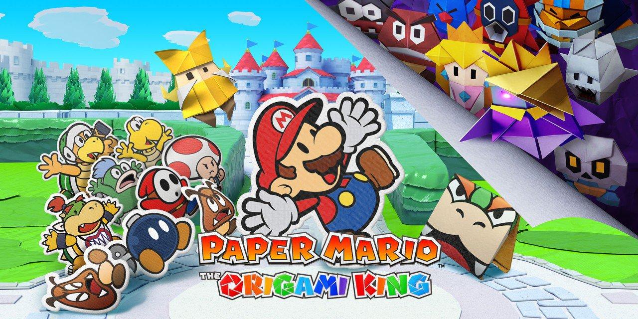 Super Mario rischia di finire spiegazzato in Paper Mario: The Origami King