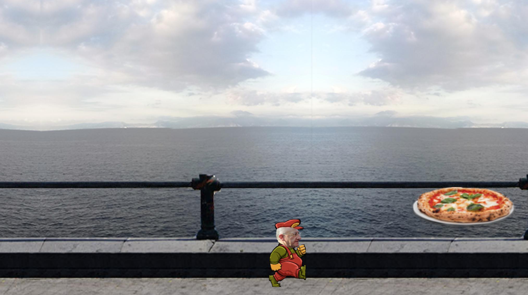 """Dai lanciafiamme a Mario Bros: un nuovo videogioco """"ispirato"""" a De Luca"""