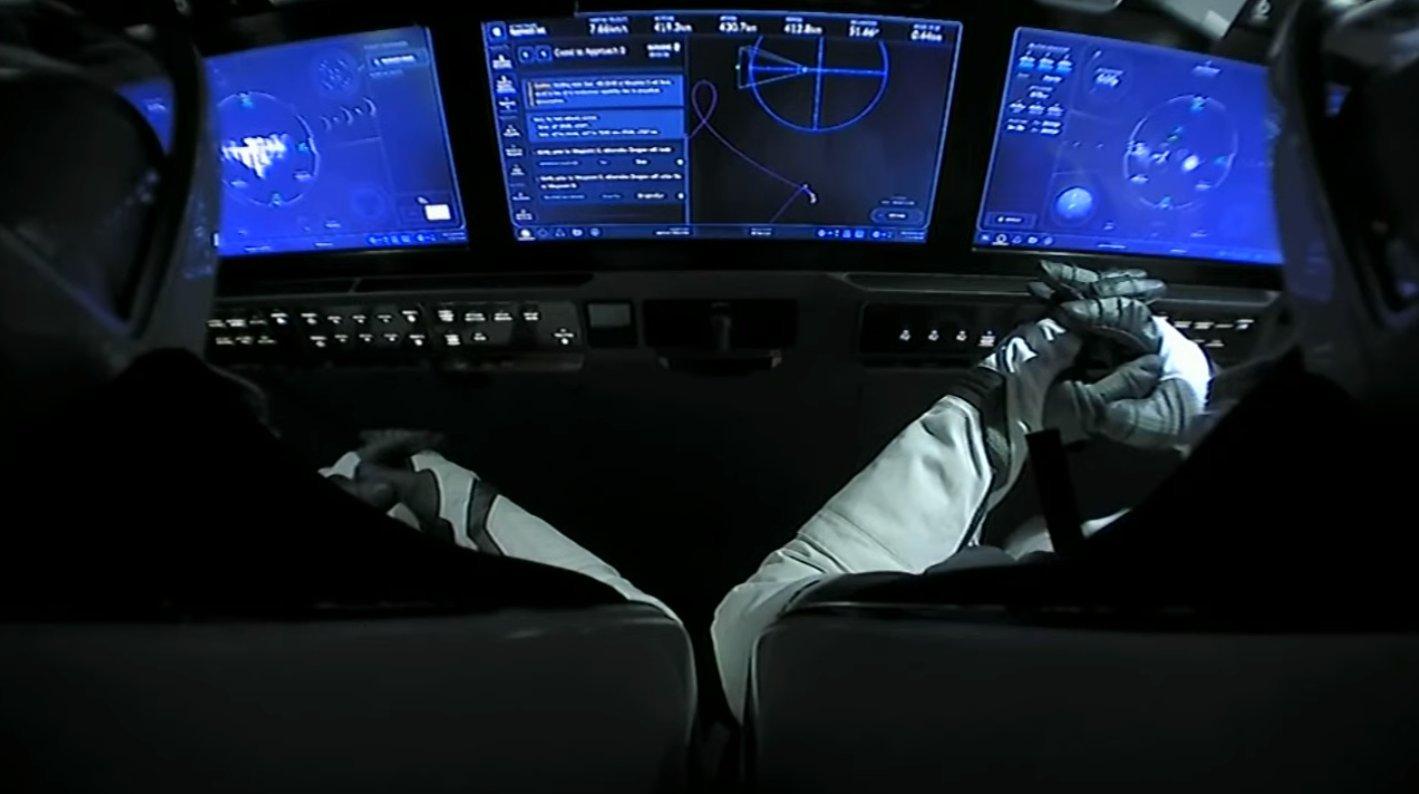 Sapreste guidare la Crew Dragon? Provate il simulatore online di Musk