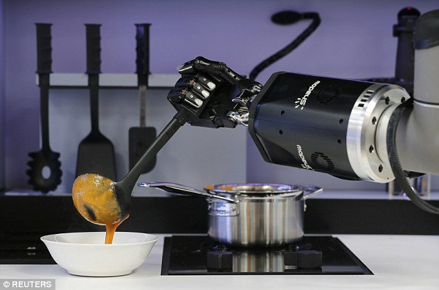 Robot chef, l\'intelligenza artificiale sbarca in cucina