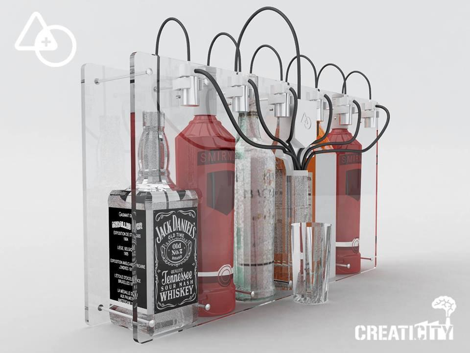 Mai pi drink scadenti grazie al barista elettronico made for Pompette per acquari