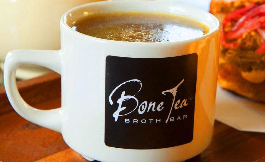 Il brodo di Bone Tea piace alle modelle