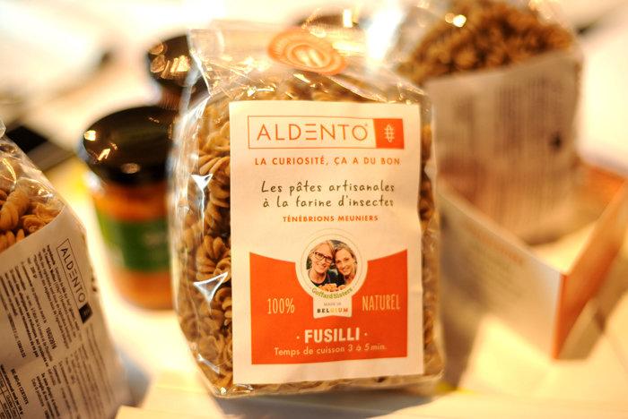 aldento pasta farina d'insetti