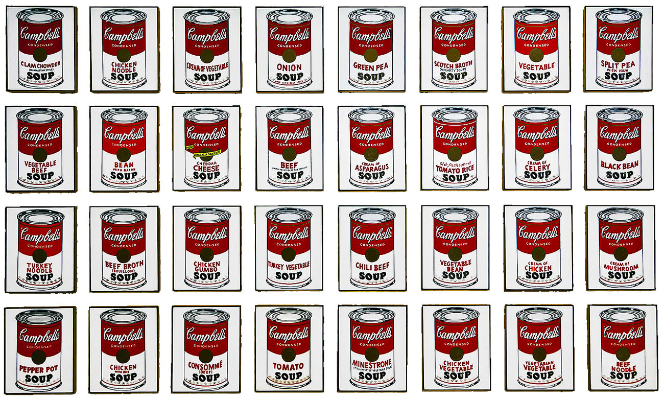 Andy-Warhol-32-Soup-Cans