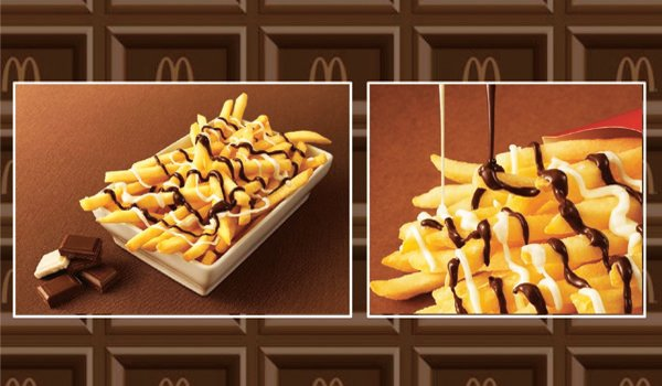 McChoco Fries McDonald's
