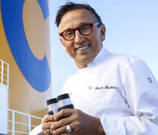 Chef  Barbieri a bordo