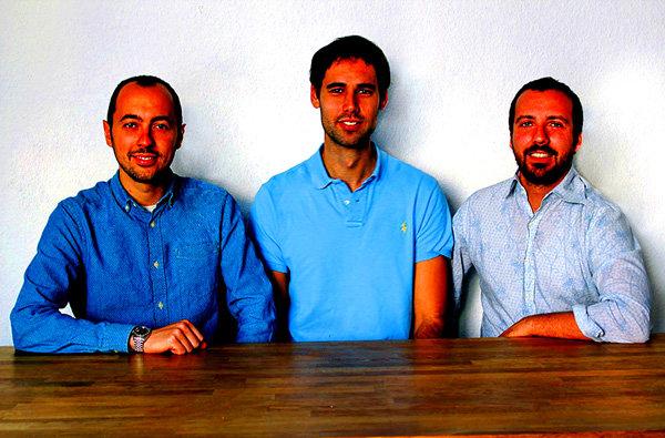 Andrea Bruno, CEO, al centro Daniele Bruttini, Presidente, a destra Alessandro Pantina