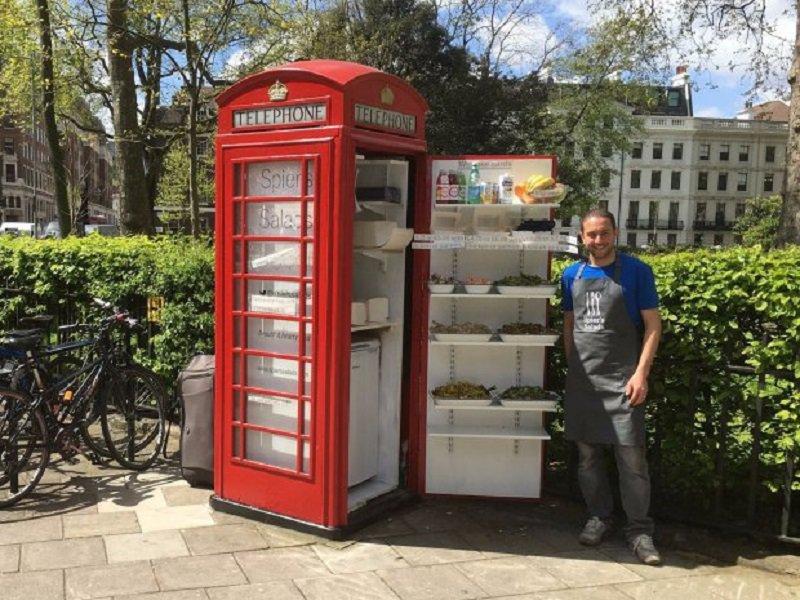 Foto Cabina Telefonica Di Londra : Carta da parati londra la cabina telefonica rossa europosters