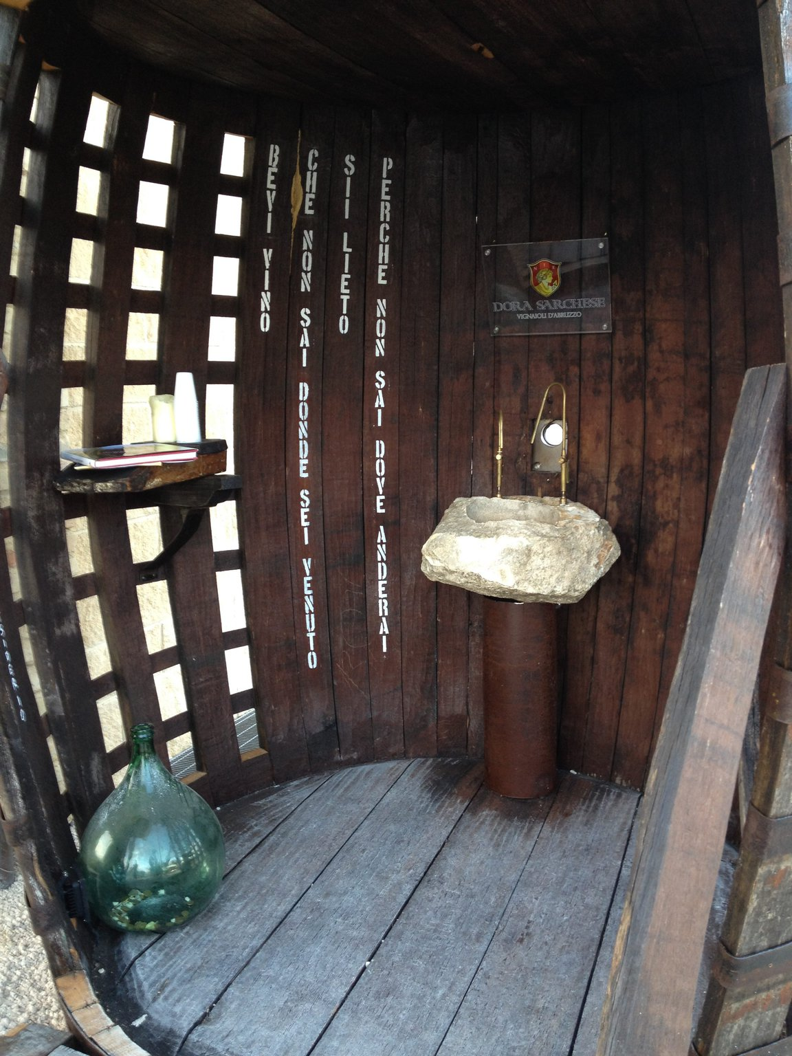 La fontana del vino di Ortona