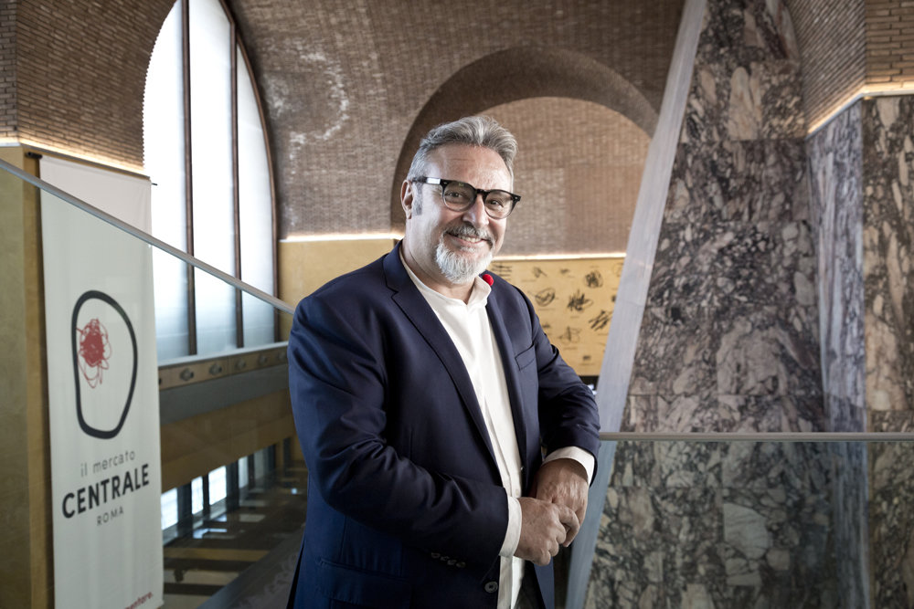 Il patron del Mercato Centrale, Umberto Montano