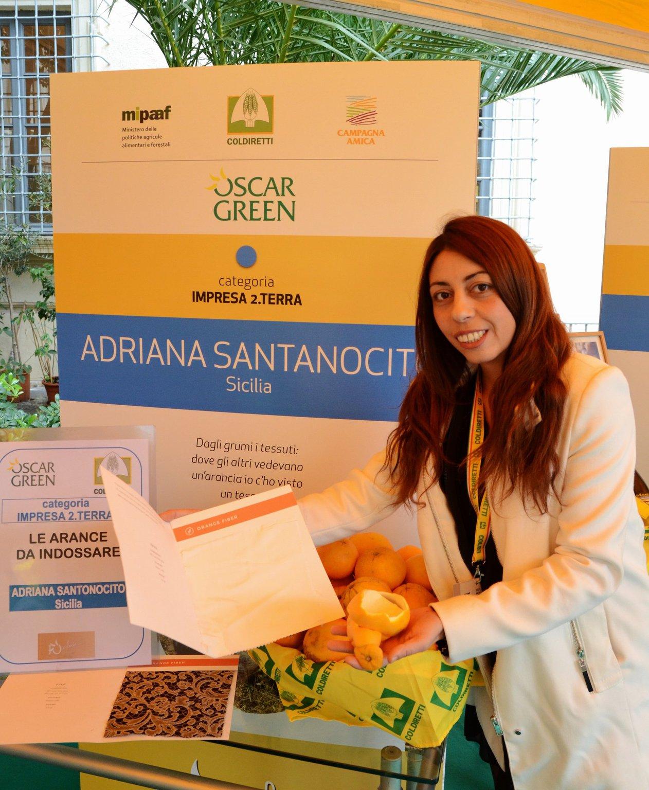 Oscar Green 2016 Adriana Santonocito