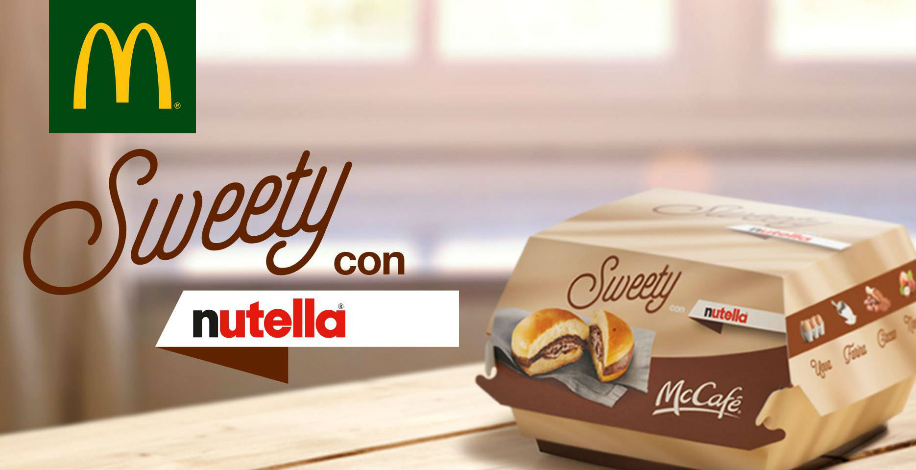Sweety con Nutella di McDonald's