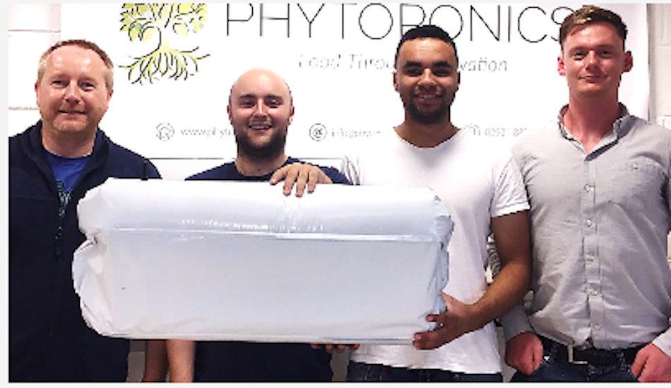 La startup dell'idroponica scalabile accelerata a StartupBootCamp FoodTech. Phytoponics