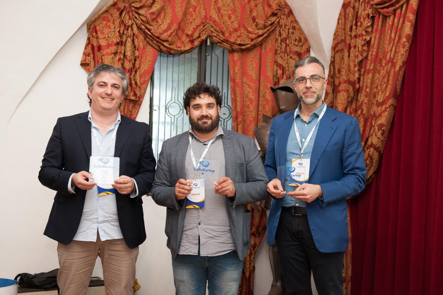 I finalisti della categoria Agrifood (foto Giusva Cennamo)