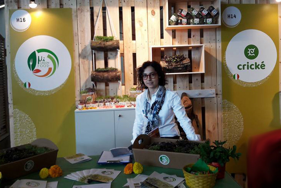 Milena Mastropierro, founder di Migreen Food, a Seeds&Chips