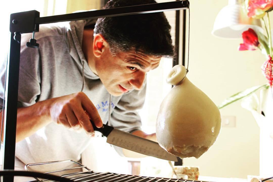 Saverio Mancino, ideatore del progetto Caciocavallo Impiccato
