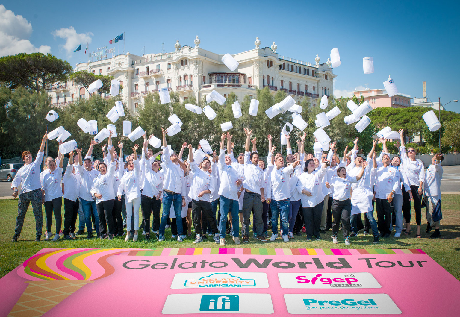 I gelatieri del Gelato World Tour