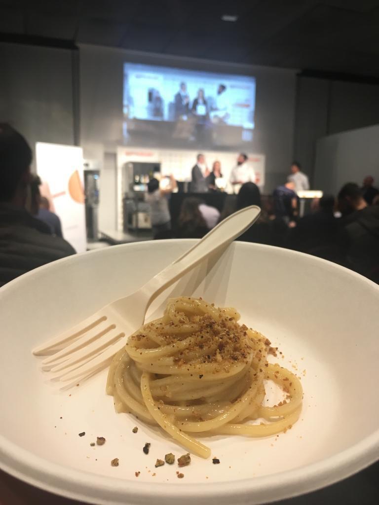 Identità Golose - Spaghetti al Pino Mugo