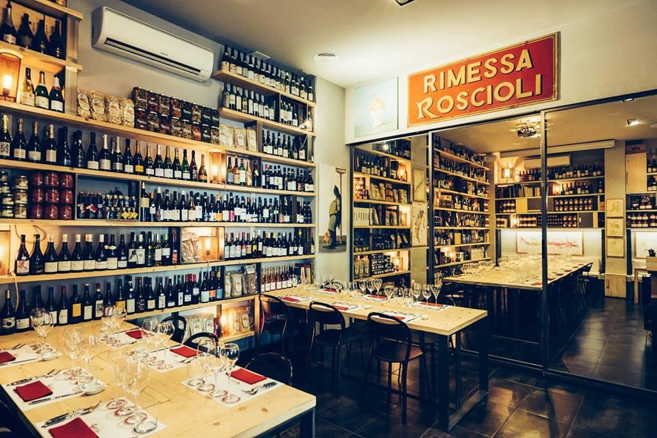 Rimessa Roscioli, Roma