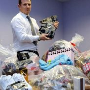 SUNDAY ONLY ££ Trading Standards Counterfeit Goods Seizures