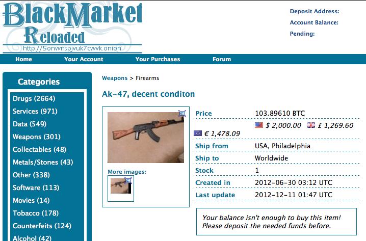ak-47-dark-web-Black-Market