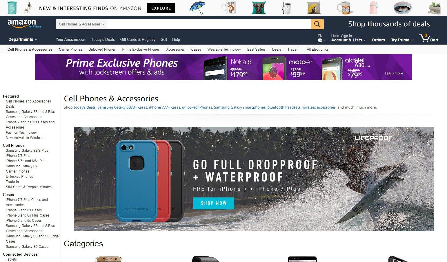 Amazon vendita resi