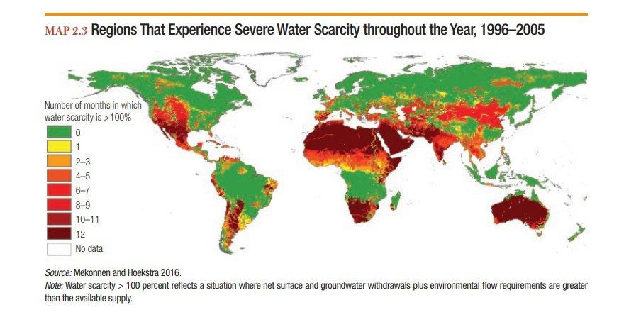 Due miliardi di persone soffrono la sete. E la desertificazione avanza anche in Meridione