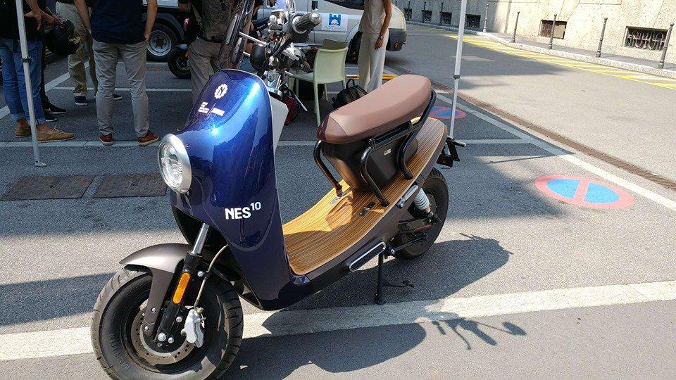 Lo scooter elettrico italiano che, dopo il round, punta alla Cina