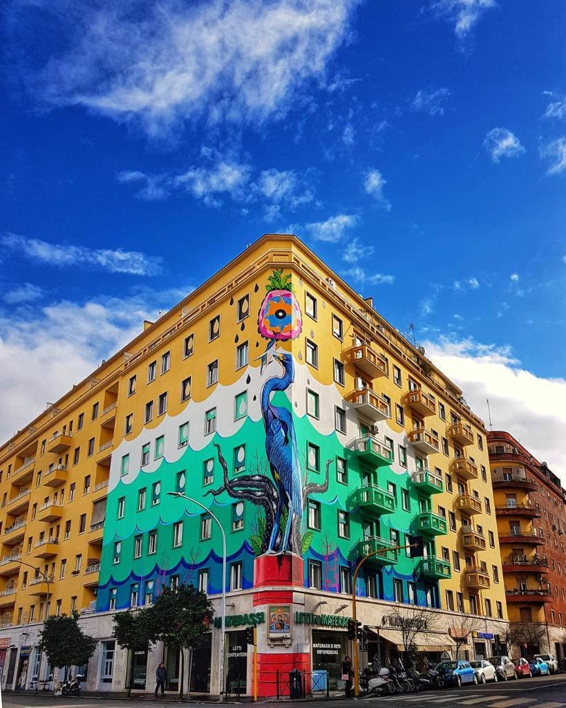 Murales Contro L Inquinamento Con Airlite Le Pitture Ripuliscono L Aria Come Un Bosco