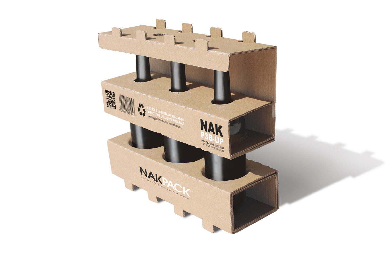 Nakpack: imballaggi 100% green per tutti i tipi di bottiglie in vetro
