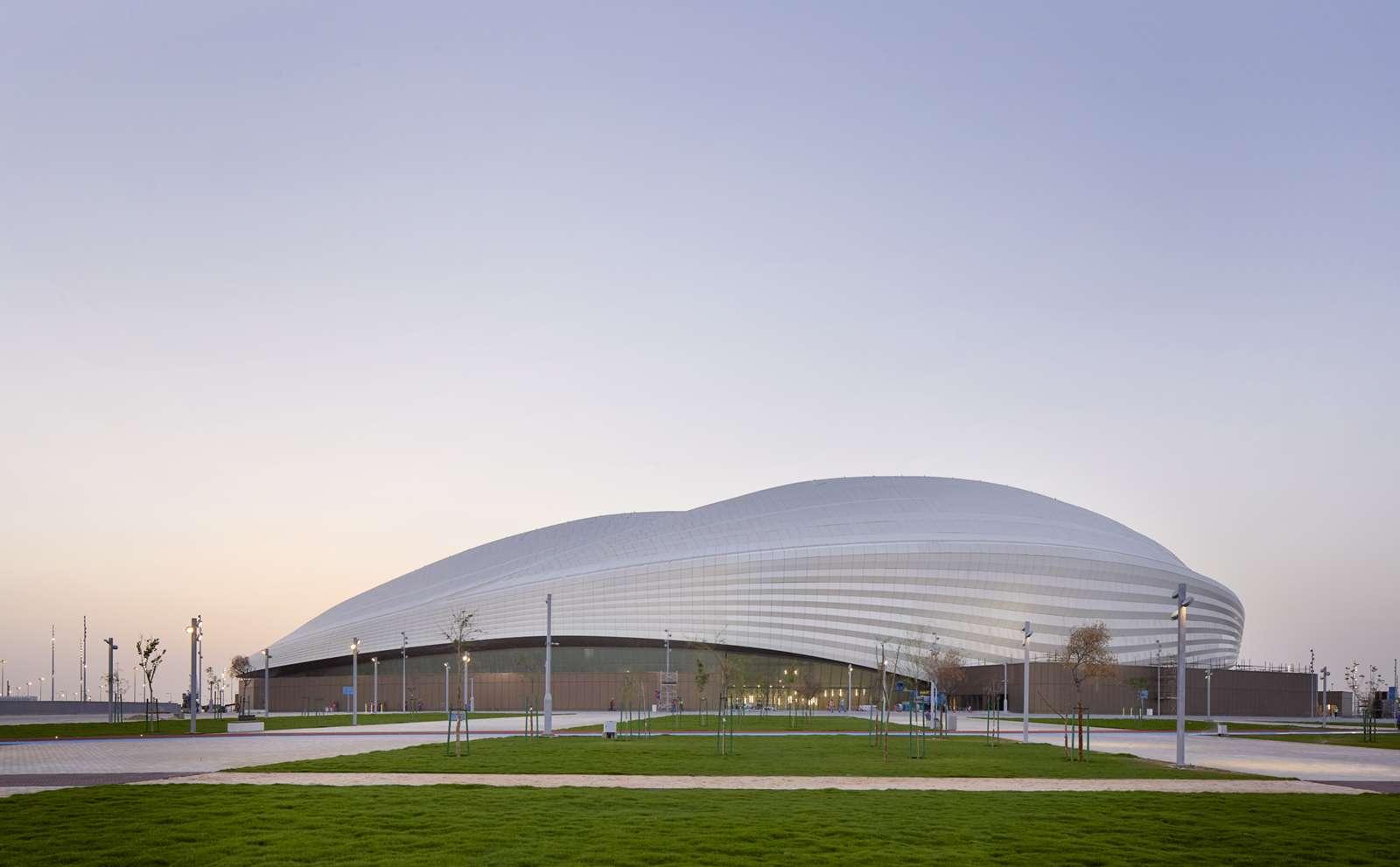 Lavorare In Qatar Architetto qatar, inaugurato il primo stadio ultramoderno per i