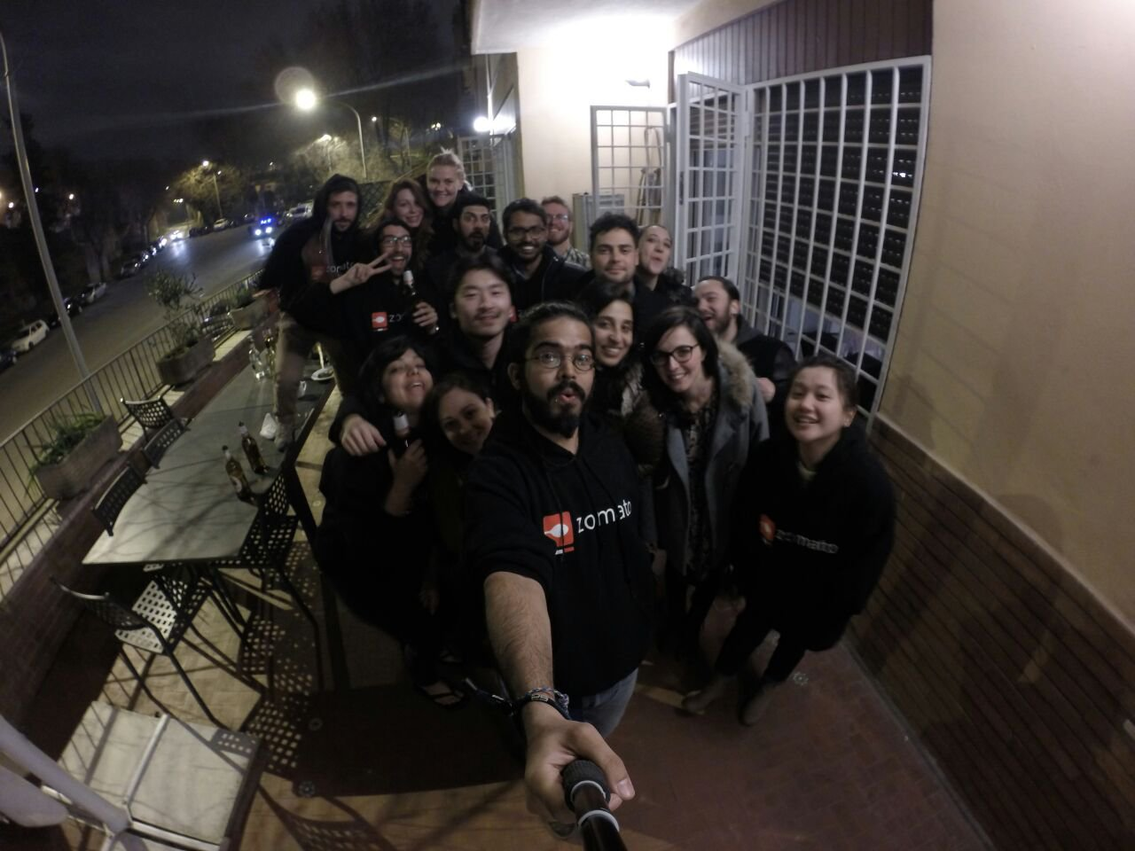 Zomato Rome Team Startupitalia