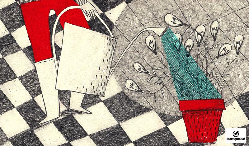 Bandi StartupItalia! Illustration