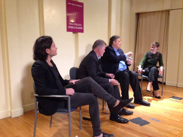 Alberto Pepe, Brian Cohen, Alessandro Piol e Maria Teresa Cometto