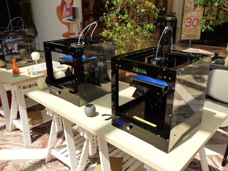Una startup pugliese ha portato le stampanti 3D nei supermercati