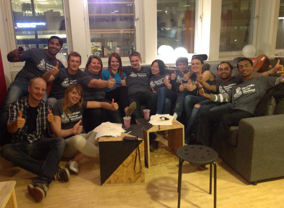 Uno Startup Weekend a Stoccolma