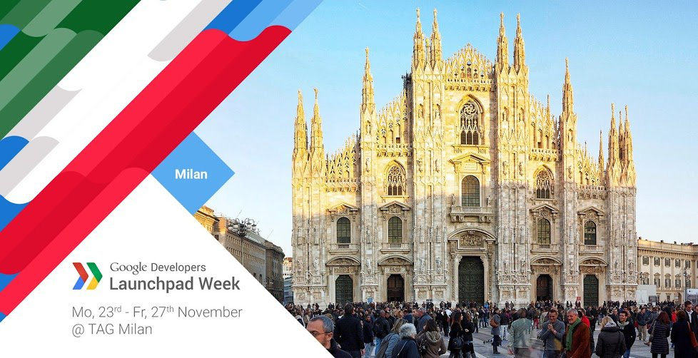 Google Launchpad Week Milano