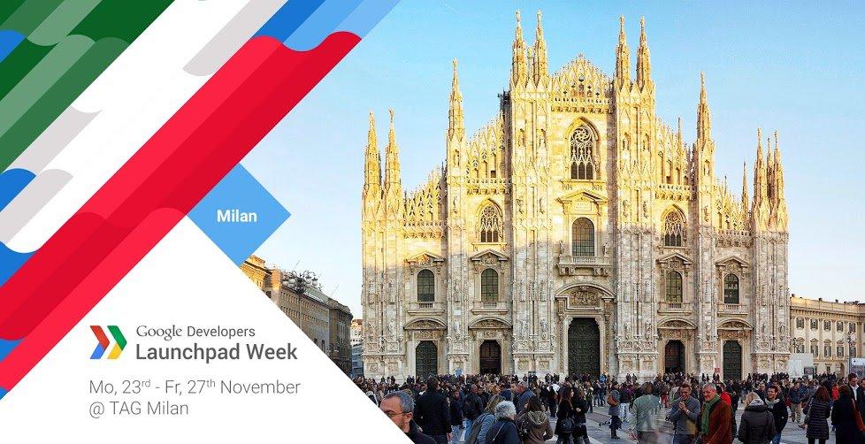 Google Launchpad Week Milano
