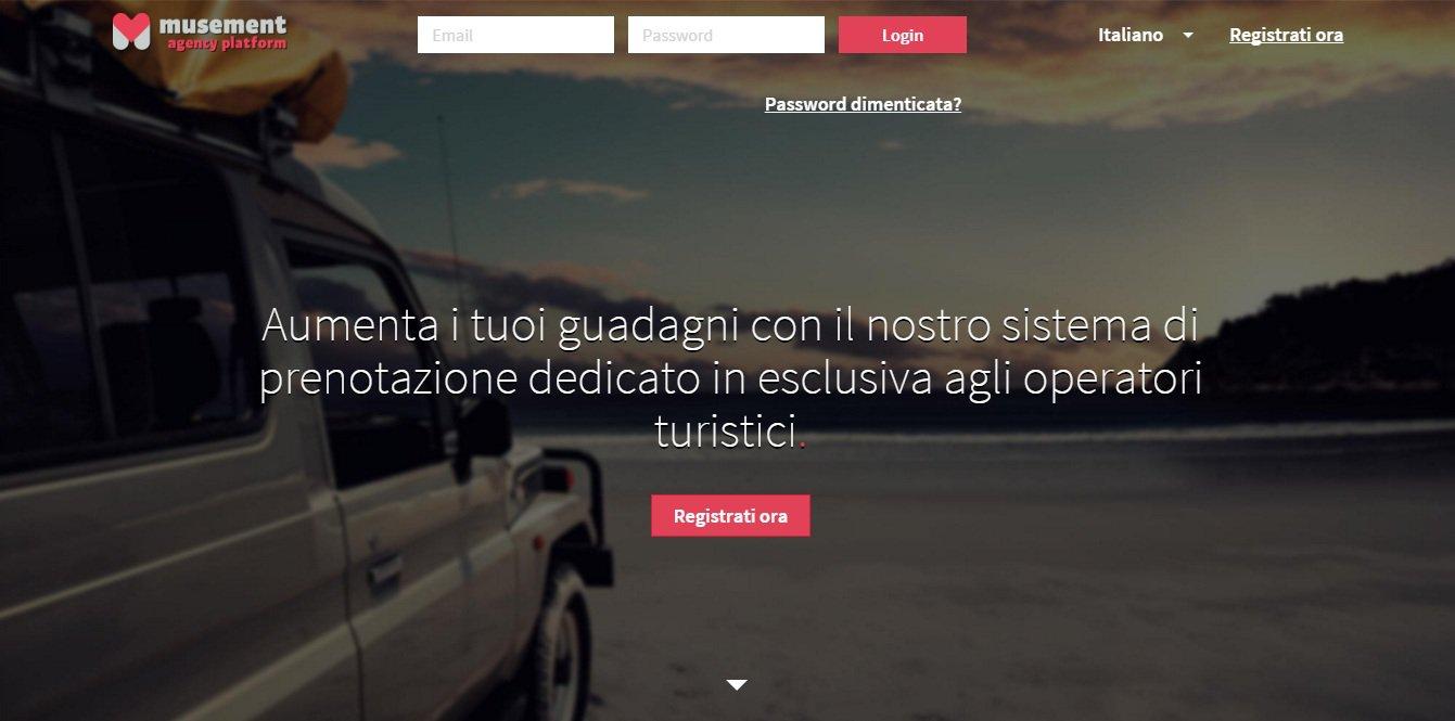 Musement_agency platform