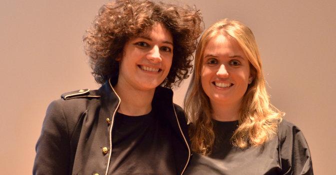 Francesca Cavallo a sinistra, Elena Favilli a destra. Timbuktu