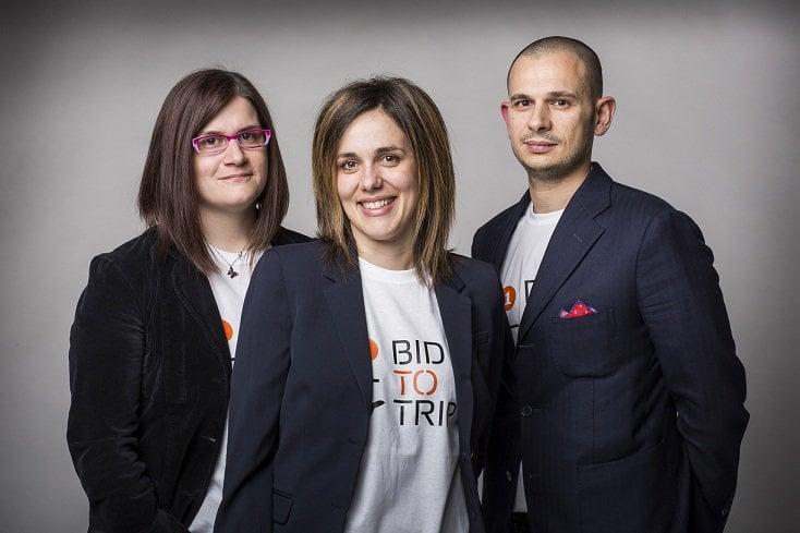 Il team di Bidtotrip: Sara Brunelli, Chiara Fusaroli e Augusto Grandi