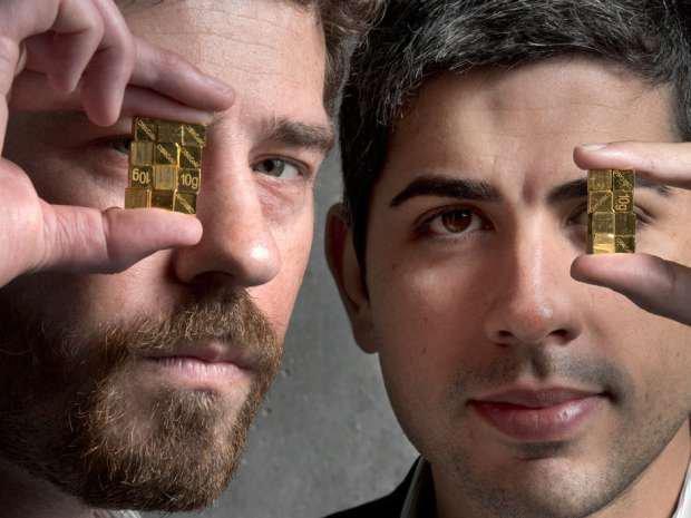 I fondatori di BitGold, Josh Crumb (a sinistra) e Roy Sebag