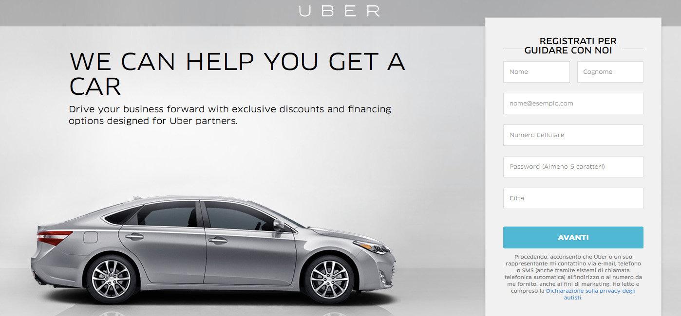Farsi l'auto nuova e diventare autista Uber in un colpo solo. Gli spin-off che nessuno conosce