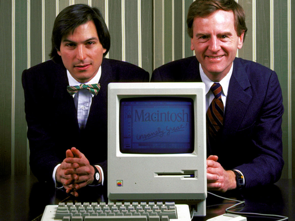 Steve Jobs e John Sculley
