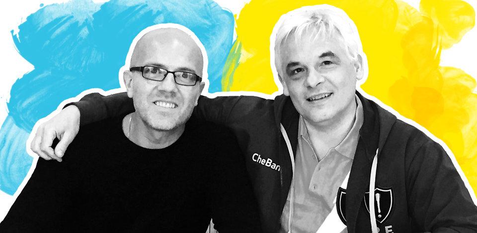 Matteo Rizzi (a sinistra) e Roberto Ferrari (a destra)
